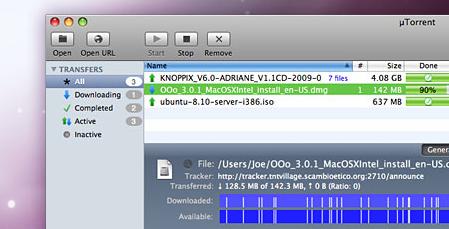 µTorrent Mac