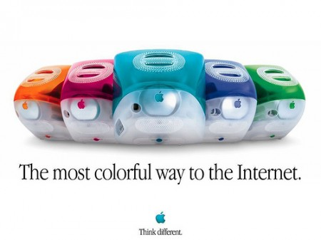 Poster iMac - Think Different