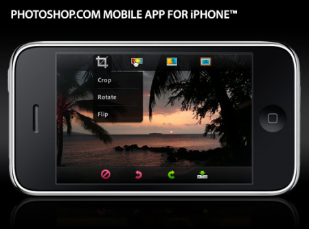 Photoshop.com Mobile App for iPhone