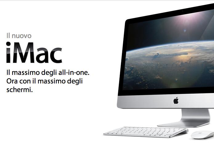 """Nuovi iMac 27"""""""