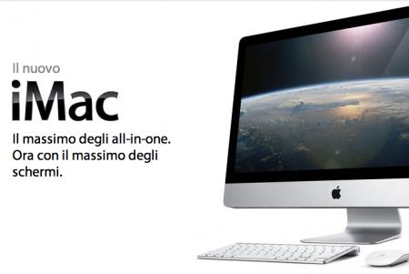 Nuovo iMac da 21,5 e 27