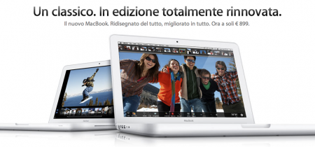 Nuovo MacBook Unibody
