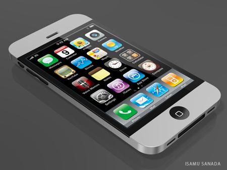 Concept di iPhone 4g di Isamu Sanada
