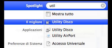 Lanciare velocemente un programma utilizzando Spotlight