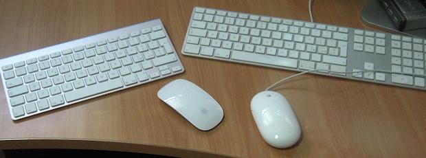 """Mouse e tastiere a confronto iMac 27"""" e iMac 24"""""""