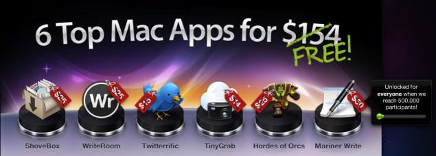 MacHeist offre ben 6 applicazioni gratuitamente per pochi giorni