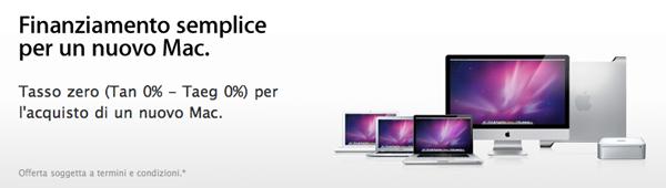 Finanziamento semplice: come comprare un mac con rate a tasso zero