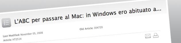Su Mac puoi fare tutto quello che facevi su Windows e molto di più