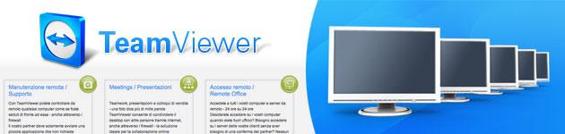 TeamViewer per Controllare il computer da remoto