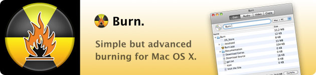 Burn masterizzazione gratuita su mac osx