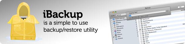 ibackup software di backup per mac