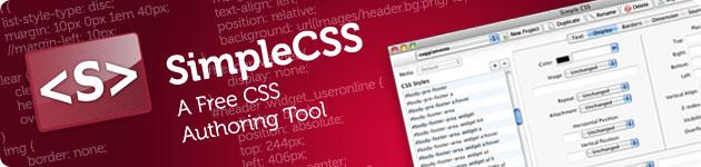 simplecss editing visivo di file css