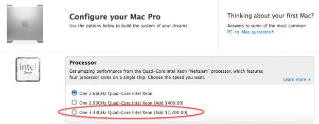 Nuovi Processori per i Mac Pro