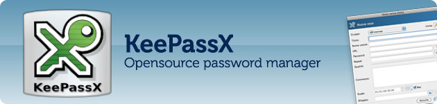keepassx password manager