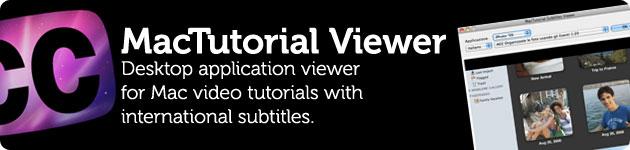 mactutorial viewer tutorial video apple mac