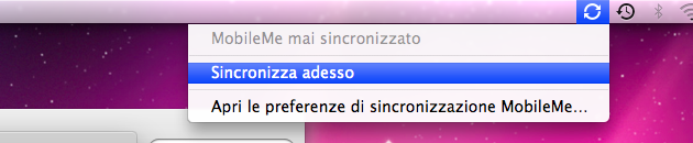 sincronizzazione rubrica con gmail