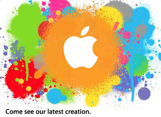 Invito per l'evento Apple del 27 Gennaio