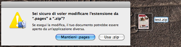 stampare un documento di pages in ambiente windows