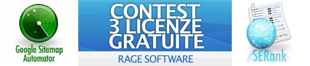 contest concorso vincite gratis licenze software