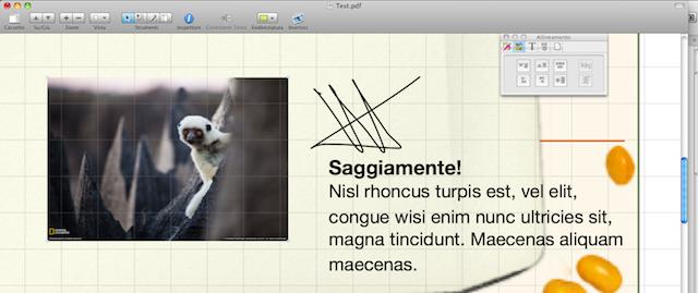 modifiche ai pdf sul mac con pdfpen pro