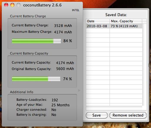 carica della batteria di MacBook Pro e Air