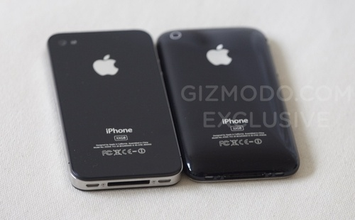 confronto iphone 3gs 4g hd