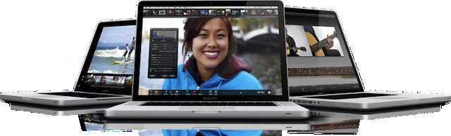 confronto tra i modelli di MacBook Pro 13 15 17