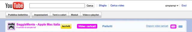 canale video youtube saggiamente.com
