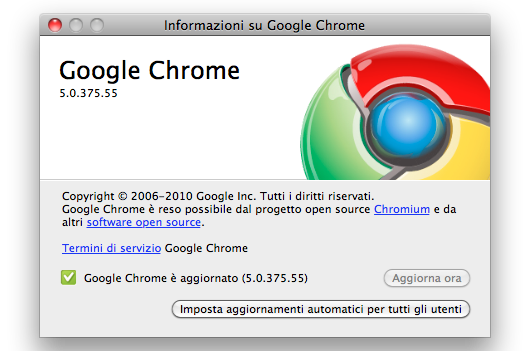 google chrome per mac