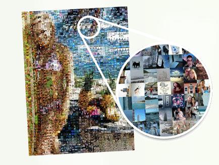 foto mosaico mac