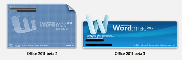 splashscreen office 2011 mac