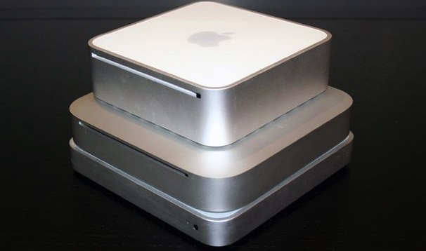 mac mini confronto dimensioni