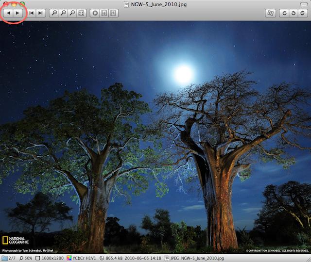 visualizzatore immagini free per Mac