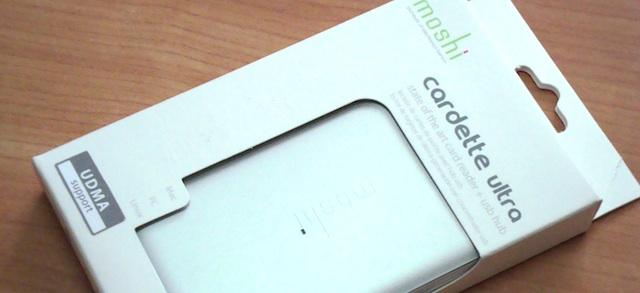 Cardette Ultra di Moshi un Card Reader compatto con HUB ...