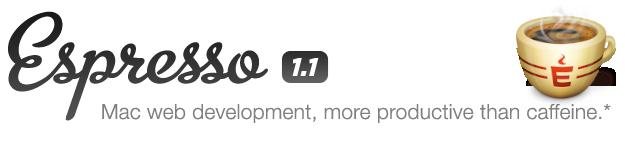 espresso ide sviluppo web mac