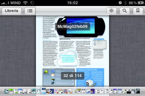 visione pdf ibooks