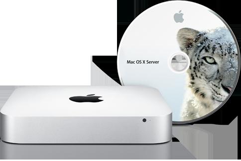Mac mini con Snow Leopard Server