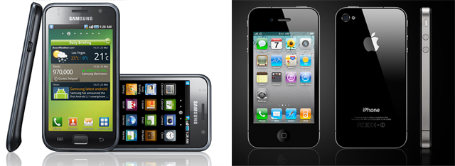 Samsung-Galaxy-S-vs-iphone-4