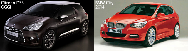citroen-ds3-bmw-city