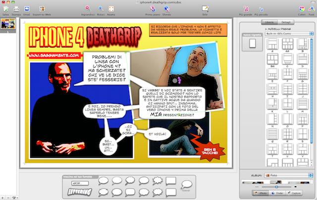 comic life iphone 4 deathgrip