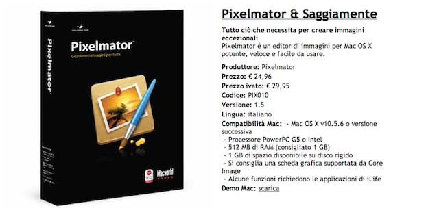 pixelmator offerta