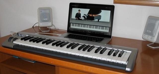 tastiera midi mac