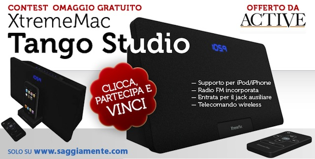 xtrememac tango studio per iPhone ed iPod