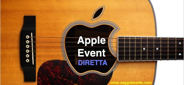 Apple Special Event 1 Settembre nuovi iPod diretta Italiano