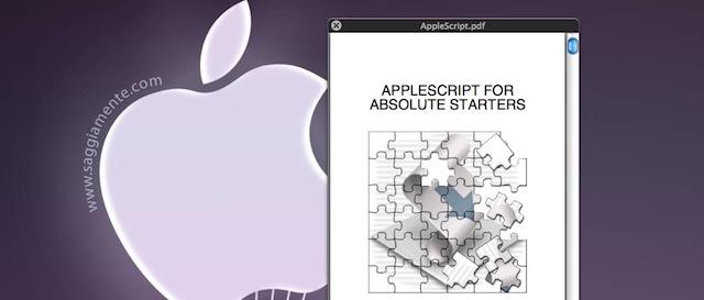 Imparare Apple Script
