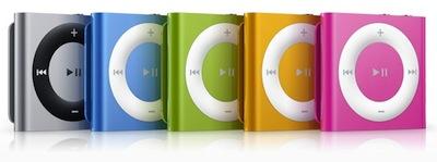 nuovo ipod shuffle 4g