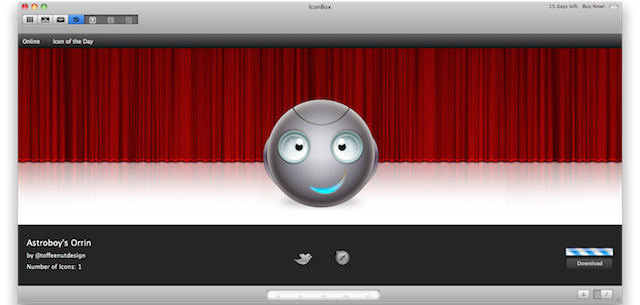 ricerca icone online icona del giorno