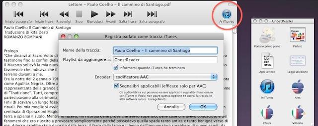 creazione audiolibri