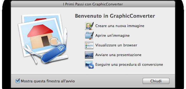 funzioni graphicconverter