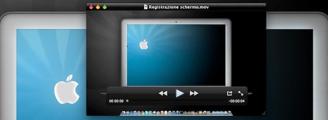 registrazione schermo